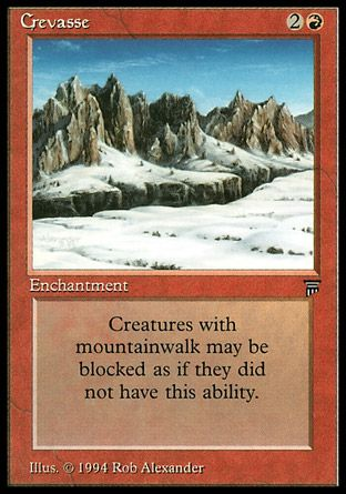 Crevasse, Legends