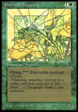 Emerald Dragonfly, Legends