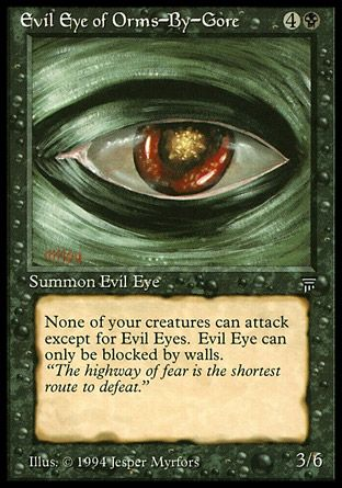 Evil Eye of Orms-By-Gore, Legends