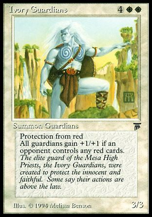 Ivory Guardians, Legends