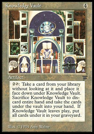 Knowledge Vault, Legends
