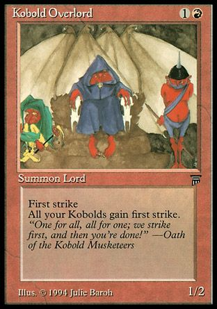Kobold Overlord, Legends