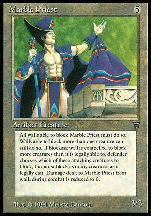 Marble Priest, Legends