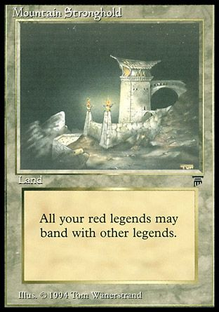 Mountain Stronghold, Legends