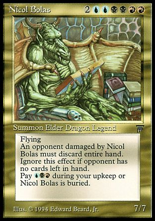 Nicol Bolas, Legends