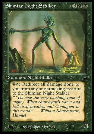 Shimian Night Stalker, Legends
