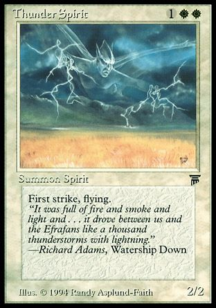 Thunder Spirit, Legends