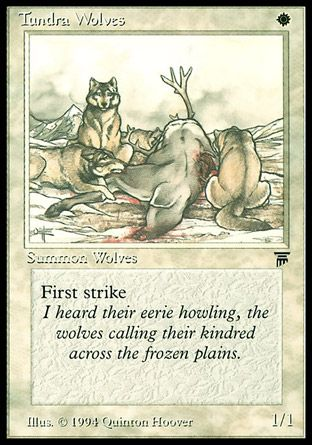 Tundra Wolves, Legends