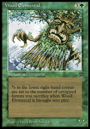 Wood Elemental, Legends