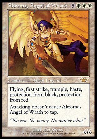 Akroma, Angel of Wrath, Legions