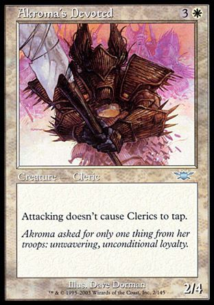 Akroma's Devoted, Legions