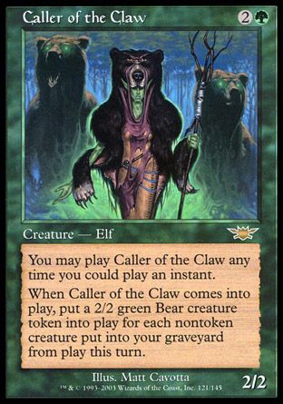Caller of the Claw, Legions
