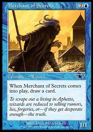 Merchant of Secrets, Legions