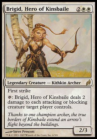 Brigid, Hero of Kinsbaile, Lorwyn