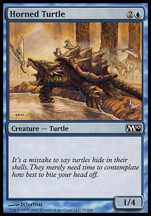 Horned Turtle, Magic 2010
