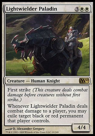 Lightwielder Paladin, Magic 2010