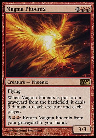 Magma Phoenix, Magic 2010
