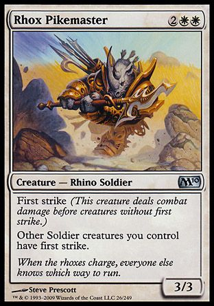 Rhox Pikemaster, Magic 2010