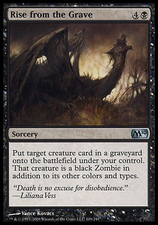Rise from the Grave, Magic 2010