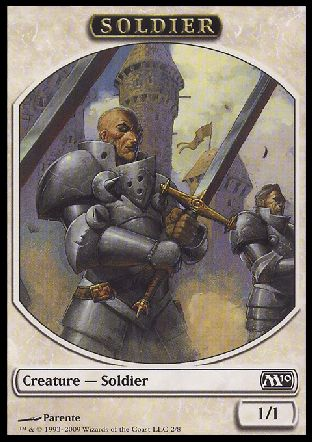 Soldier token, Magic 2010
