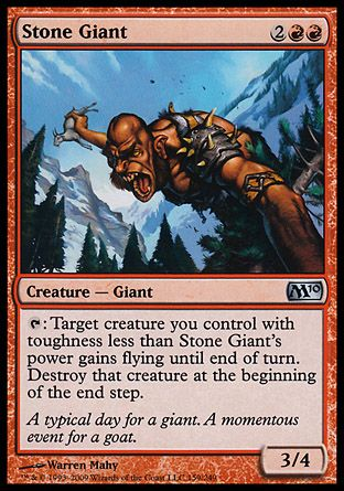 Stone Giant, Magic 2010