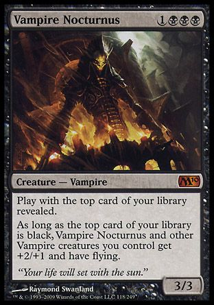 Vampire Nocturnus, Magic 2010