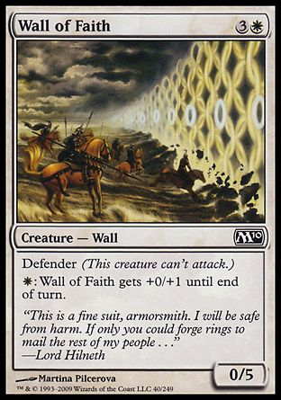 Wall of Faith, Magic 2010