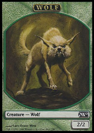 Wolf token, Magic 2010