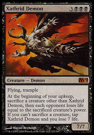 Xathrid Demon, Magic 2010