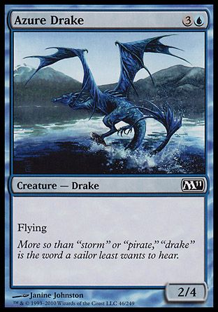 Azure Drake, Magic 2011