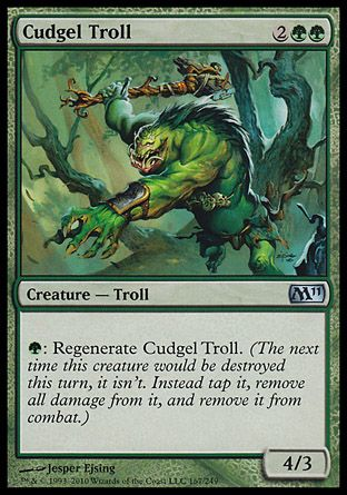Cudgel Troll, Magic 2011