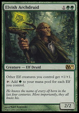 Elvish Archdruid, Magic 2011