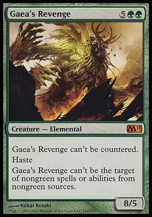Gaea's Revenge, Magic 2011