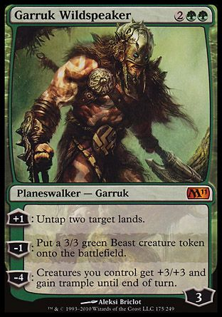 Garruk Wildspeaker, Magic 2011