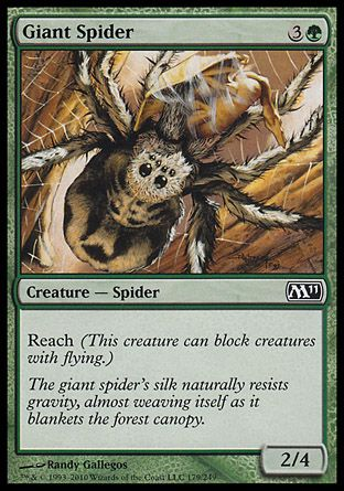Giant Spider, Magic 2011