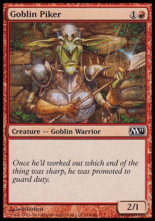 Goblin Piker, Magic 2011