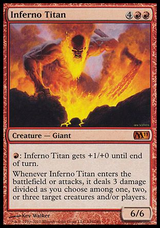 Inferno Titan, Magic 2011