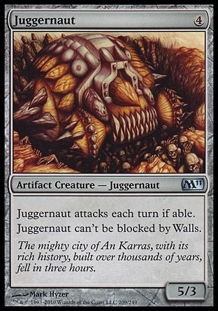 Juggernaut, Magic 2011