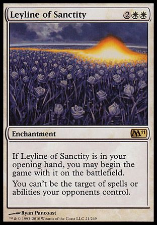 Leyline of Sanctity, Magic 2011