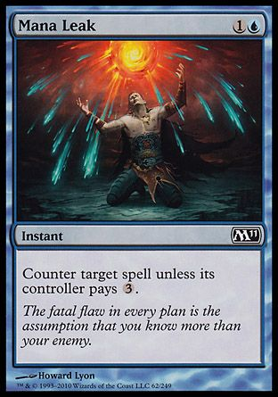 Mana Leak, Magic 2011