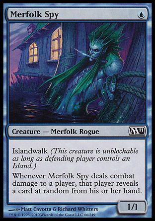 Merfolk Spy, Magic 2011