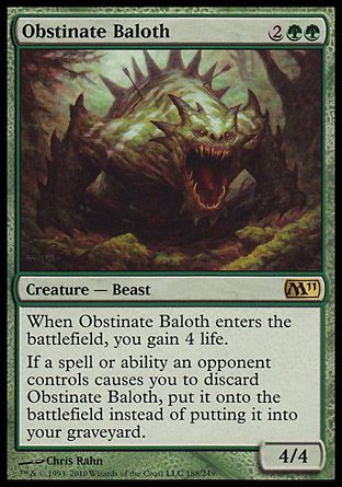 Obstinate Baloth, Magic 2011
