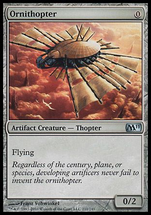 Ornithopter, Magic 2011