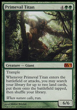 Primeval Titan, Magic 2011