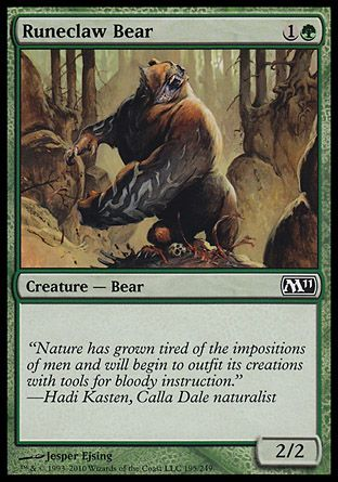 Runeclaw Bear, Magic 2011
