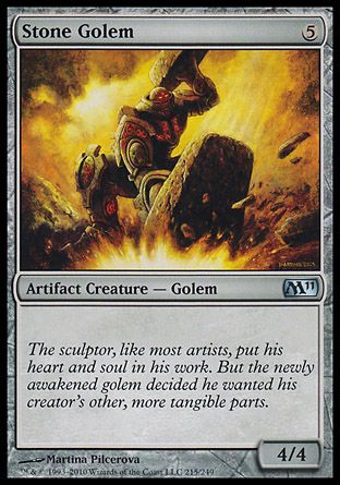 Stone Golem, Magic 2011