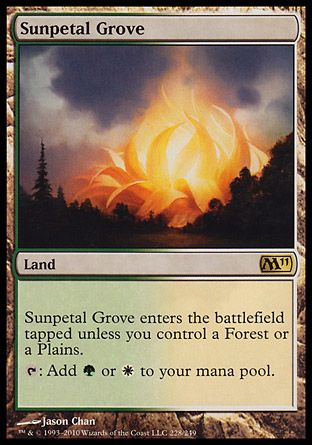 Sunpetal Grove, Magic 2011