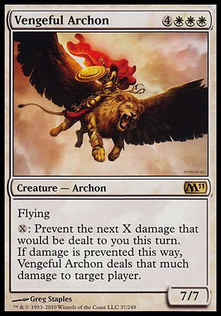 Vengeful Archon, Magic 2011