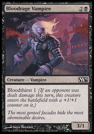 Bloodrage Vampire, Magic 2012