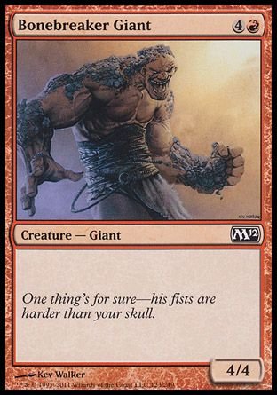 Bonebreaker Giant, Magic 2012